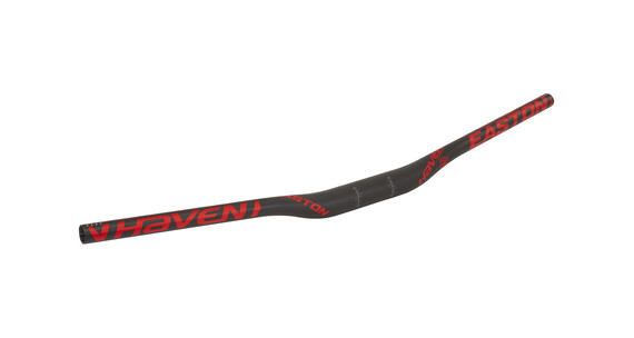 EASTON Haven 35 Carbon - Manillar MTB - 750mm Ø35mm rojo/negro